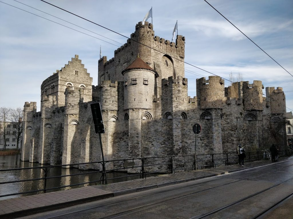 Visiting Ghent, Belgium -  Stop 10 Gravensteen