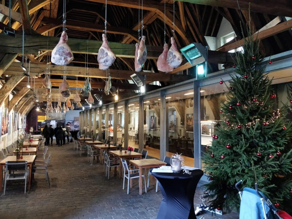 Visiting Ghent, Belgium - the Great butcher's hall