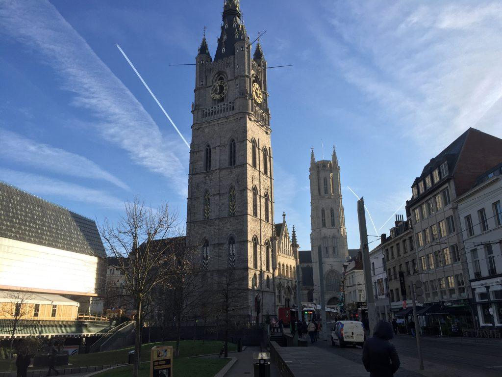 Visiting Ghent, Belgium - Stop 4 Ghent Belfry