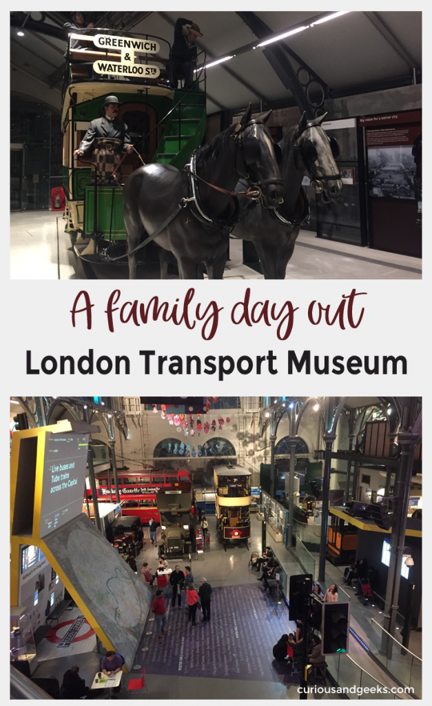 If you are looking for A family day out in London, why not visit the London Transport Museum. The kids will love the train simulator, driving a real bus and playing on the All Aboard play zone.