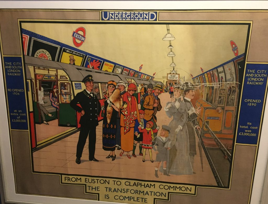 London Transport Museum - Evolution of the Underground