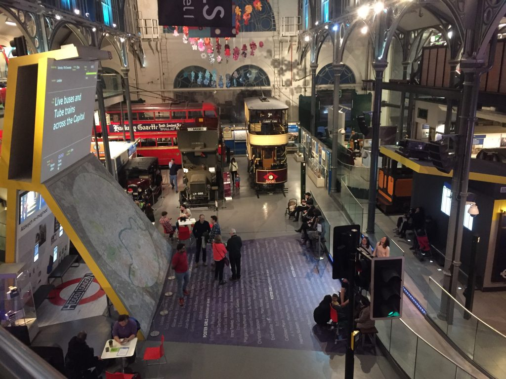 London Transport Museum - On the Surface - picture of the ground floor
