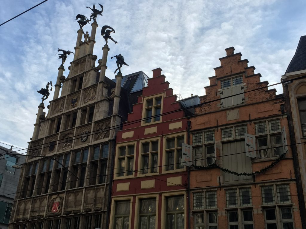 Visiting Ghent, Belgium - Stop 7 Masons's Guild Hall