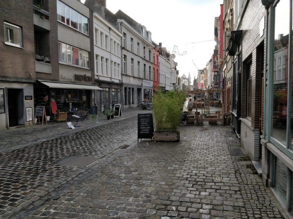 Visiting Ghent, Belgium - Stop 12 Patershol