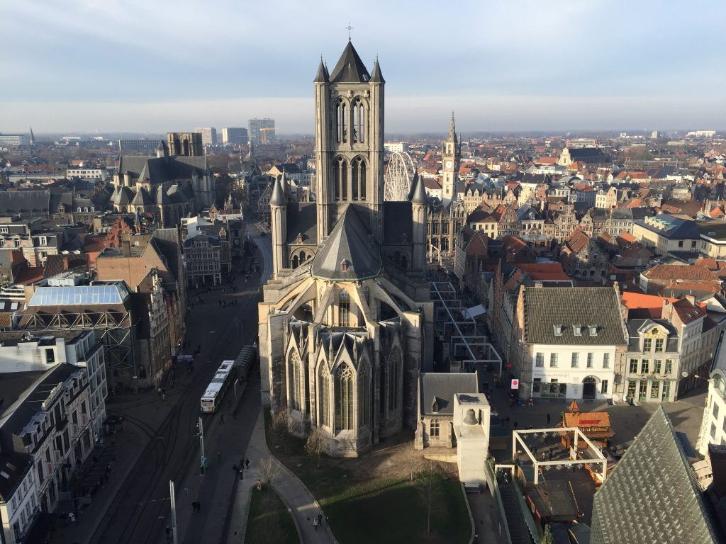 Visiting Ghent, Belgium - Stop 6 St Nicholas' church