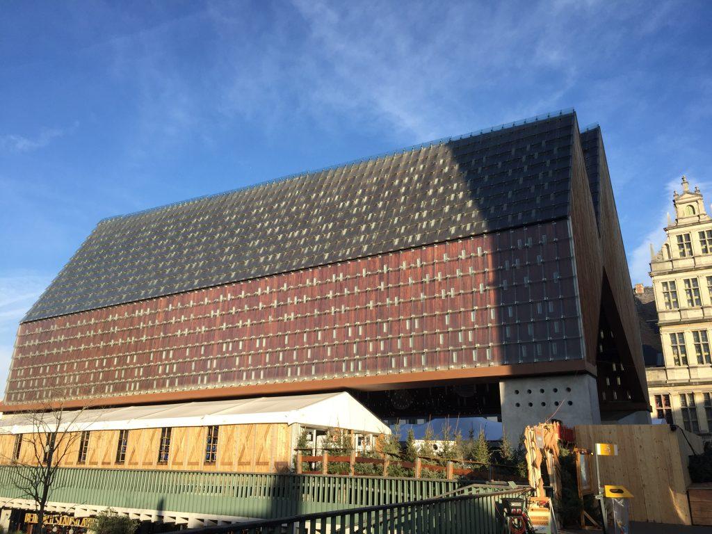 Visiting Ghent, Belgium - Stop 5 City Pavilion