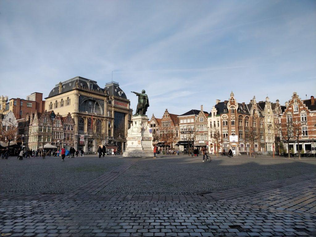 Visiting Ghent, Belgium - Stop 15 Vrijdagmarkt