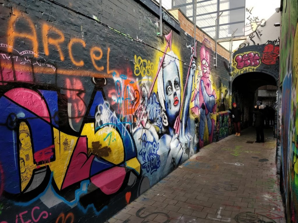 Visiting Ghent, Belgium - Stop 14 Graffiti street